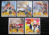 Poštovní známky Guinea-Bissau 2009 Hasiči Mi# 4402-06 Kat 14€