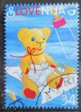 Poštovní známka Slovinsko 2000 Plyšový medvídek Mi# 281