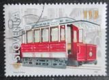 Poštovní známka Slovinsko 2001 Tramvaj Mi# 357