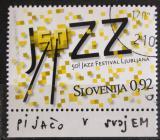 Poštovní známka Slovinsko 2009 Jazzový festival Mi# 734