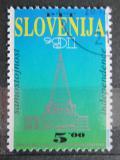 Poštovní známka Slovinsko 1991 Nezávislost, první známka Mi# 1