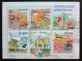 Poštovní známky Svatý Tomáš 2009 Dinosauři a minerály Mi# 4103-06 Kat 11€