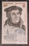 Poštovní známka Francouzská Polynésie 1983 Martin Luther Mi# 389