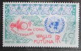 Poštovní známka Wallis a Futuna 1985 OSN, 40. výročí Mi# 490