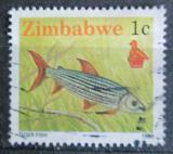 Poštovní známka Zimbabwe 1990 Afrotetra botswanská Mi# 418