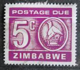 Poštovní známka Zimbabwe 1980 Nominál, doplatní Mi# 18