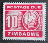Poštovní známka Zimbabwe 1980 Nominál, doplatní Mi# 20