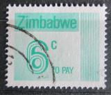 Poštovní známka Zimbabwe 1985 Nominál, doplatní Mi# 23