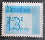 Poštovní známka Zimbabwe 1985 Nominál, doplatní Mi# 25