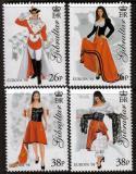 Poštovní známky Gibraltar 1998 Evropa CEPT, národní svátky Mi# 834-37 Kat 8€