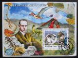 Poštovní známka Komory 2009 Paleontologové Mi# Block 452 Kat 15€