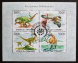 Poštovní známky Komory 2009 Prehistorická fauna Mi# 2646-49 Kat 9€