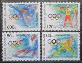 Poštovní známky Bulharsko 1997 ZOH Nagano Mi# 4314-17