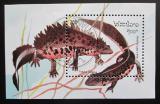 Poštovní známka Laos 1994 Čolek velký Mi# Block 150