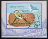 Poštovní známka Togo 1999 Ptáci Mi# Block 445