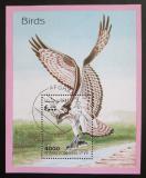 Poštovní známka Afghanistán 1998 Ptáci Mi# Block 105