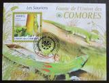 Poštovní známka Komory 2009 Felsuma Mi# Block 513 Kat 15€