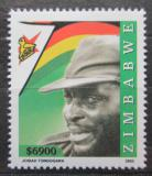 Poštovní známka Zimbabwe 2005 Josiah Magama Tongogara Mi# 822