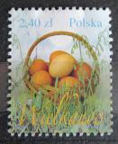 Poštovní známka Polsko 2010 Velikonoční vajíčka Mi# 4475