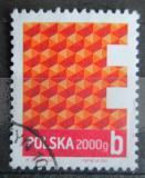 Poštovní známka Polsko 2013 Geometrický vzorec Mi# 4614 Kat 5.90€