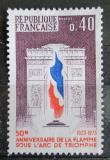 Poštovní známka Francie 1973 Vítězný oblouk v Paříži Mi# 1855