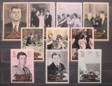 Poštovní známky Fudžajra 1965 John F. Kennedy Mi# 28-37 Kat 14€