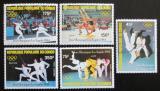 Poštovní známky Kongo 1984 LOH Los Angeles Mi# 946-50