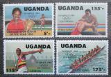 Poštovní známky Uganda 1984 LOH Los Angeles Mi# 397-400