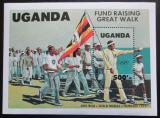 Poštovní známka Uganda 1984 LOH Los Angeles Mi# Block 45