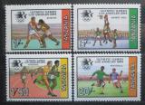 Poštovní známky Tanzánie 1984 LOH Los Angeles Mi# 242-45