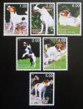 Poštovní známky Tádžikistán 2001 Psi Mi# N/N