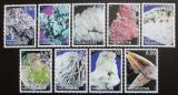 Poštovní známky Tádžikistán 2000 Minerály Mi# N/N
