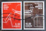 Poštovní známky Dánsko 2014 Dánský design Mi# 1776-77 Kat 7€
