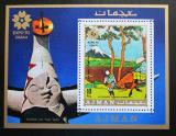 Poštovní známka Adžmán 1970 EXPO, Umění, Hokusai Mi# Block 196 A