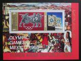 Poštovní známka Jemen 1968 LOH Mexiko Mi# Block 76 Kat 12€
