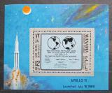Poštovní známka Manáma 1969 Apollo 11 Mi# Block 41 A Kat 8.50€