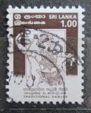 Poštovní známka Srí Lanka 1999 Tanečník Mi# 1192