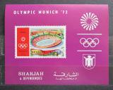 Poštovní známka Šardžá 1971 LOH Mnichov Mi# Block 90 B Kat 8€