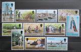 Poštovní známky Pitcairnovy ostrovy 1977 Pohledy z ostrovů Mi# 163-73