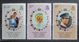 Poštovní známky Pitcairnovy ostrovy 1981 Královská svatba Mi# 209-11