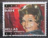 Poštovní známka Řecko 2011 Rena Vlahopoulou, herečka Mi# 2641