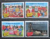 Poštovní známky Norfolk 1987 Vánoce Mi# 425-28