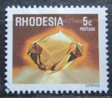 Poštovní známka Rhodésie, Zimbabwe 1978 Citrín Mi# 209