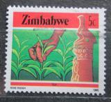Poštovní známka Zimbabwe 1985 Čaj Mi# 312