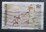 Poštovní známka Zimbabwe 1982 Skalní malba Mi# 259