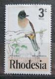 Poštovní známka Rhodésie, Zimbabwe 1977 Bulbul zahradní Mi# 188