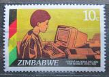 Poštovní známka Zimbabwe 1985 Sekretářka Mi# 335