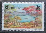 Poštovní známka Rhodésie, Zimbabwe 1977 Umění, Joan Evans Mi# 194