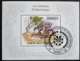 Poštovní známka Komory 2009 Protoceratops Mi# Block 565 Kat 15€