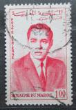 Poštovní známka Maroko 1962 Král Hassan II. Mi# 481